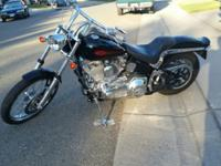 2005 Softail, 5600 miles, too much chrome to list,
