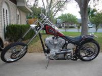 Built in 2005,this custom chopper has just about