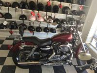 We are offering a 2005 Harley Davidson 1200 Custom. It