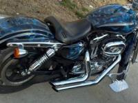 I would like to sell my Harley. It has under 4000 miles