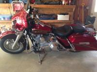 2005 HD Electra Glide CVO. FLHTCSE2. 44200 miles. Every