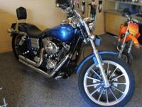 Here is a 2005 Harley Davidson Dyna low rider. Has just