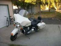 Description MUST SEE05 Electra Glide Police bike. Just