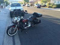 Very custom bike (2005 Harley Fat Boy), low miles only