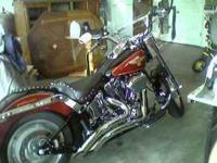 2005 Harley Fatboy 15th Anniversary Edition. 16,200