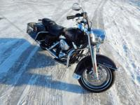 Up for sale 2005 Harley-Davidson FLHRI Road King with