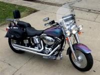 2005 Harley Davidson FLSTF Fat Boy . Price Recently