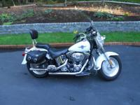 2005 Harley Davidson FLSTF Fat Boy Softail. 18100