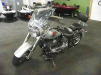 NICE 2005 HARLEY DAVIDSON FLSTF FAT BOY WITH ONLY 8,821