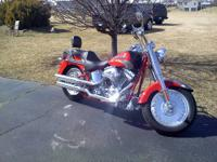 2005 Harley-Davidson FLSTFSE Fat Boy CVO Collector