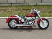 2005 Harley Davidson FLSTFSE Screamin Eagle Fatboy- - I