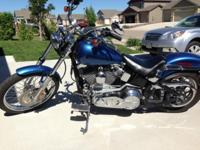 For Sale: 2005 Harley Davidson FXST Softail Standard.
