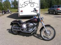2005 Harley Davidson Deuce with a custom-made Bordeaux