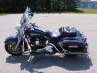 This 2005 Harley-Davidson Peace Officer Edition FLHRI