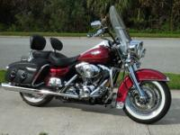 2005 Harley Davidson Road King Classic with 18k carful