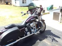 2005 Harley Davidson FLHRSI 1450 road King custom.