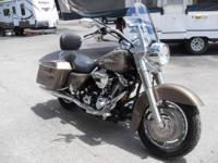 Here is one beautiful bike. Model: 2005 HD Road King