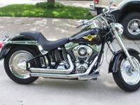 2005 Harley Davidson Softail Fat Boy Cruiser This is
