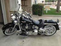 Harley Davidson Softail Deluxe, with 95 ci big bore
