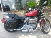 2005 Harley Davidson Sporster 883 screaming eagle pipes