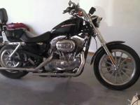 2005 Harley Davidson Sportster low miles,lots of