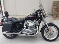 2005 Harley Davidson sportster, 3400 miles, Garage