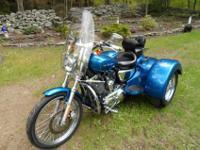 2005 Harley Davidson Sportster 1200 trike. EXCEPTIONAL