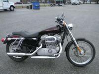 2005 Harley-Davidson Sportster XL 883C BURGUNDY ONLY
