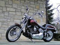 This softail is nearly spotless! This bike is ultra