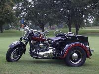 This special built 2005 Harley Davidson Springer can