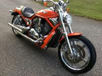 Up for sale is a very nice Harley Davidson VROD
