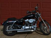 THIS IS A 2005 HARLEY DAVIDSON XL1200 CUSTOM WITH ONLY