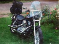 2005 Harley Dyna very slide motorcycle good -. Selling