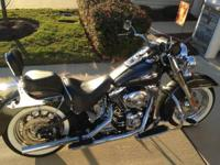 Immaculate softail custom deluxe with less than 10k