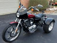 Awesome looking and sounding 2005 Harley Sportster 1200