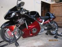 very clean 2005 Hayabusa 1340cc I have actually put 2