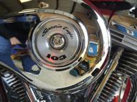 Beautiful Harley Davidson Screamin Eagle. Model