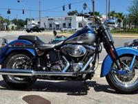 2005 Heritage Softail Springer 100 % stock and initial