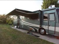 This is a Class A 2005 Holiday Rambler Scepter with a