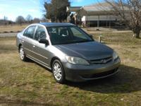 2005 Honda Civic. 153K miles, 4 Cyl , Automatic, 4