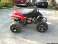 05 honda 400ex very nice and well taken care of, oil