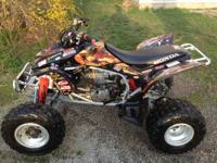 Up for sale is a 2005 trx450r. kickstart. I have just