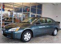 This 2005 Accord LX might be the one for you! This one