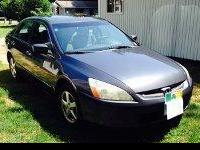 2005 Honda Accord EX- 177k miles, 4 door sedan, FWD, 4