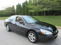 2005 Honda Accord EX Black 4dr 3.0L V6 Sedan Automatic