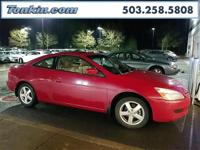 WOW!!! Check out this. 2005 Honda Accord EX-L 2.4L I4
