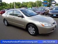 This 2005 Accord sedan is a one owner vehicle with a
