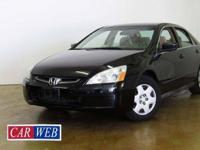 2005 Honda accord LX 4 door with automatic just