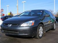 New Arrival! This 2005 Honda Accord Sdn EX-L V6