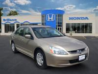 2005 Honda Accord Sdn 4dr Car LX Our Location is: